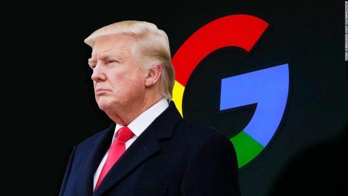 Trump Google'a