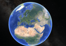Google Half Earth