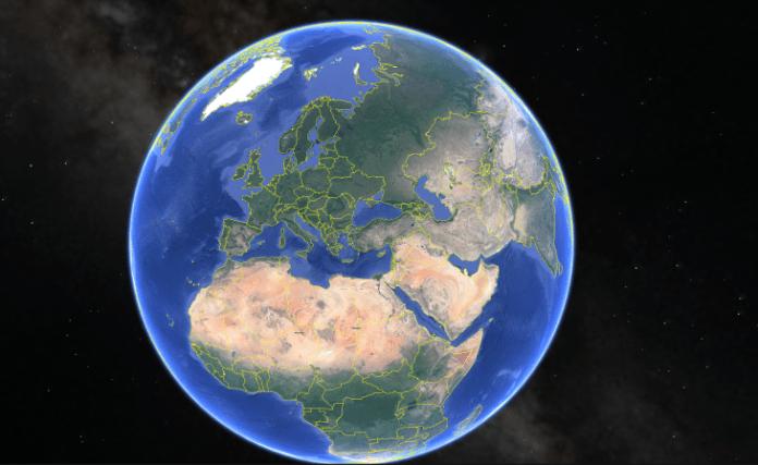 Google Half Earth