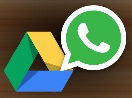 WhatsApp'tan Google Drive