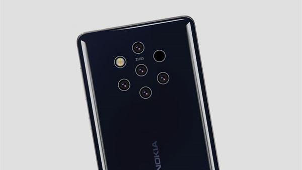 Beş kameralı Nokia 9