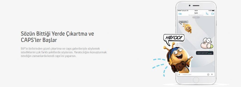 BiP Messenger emojiler