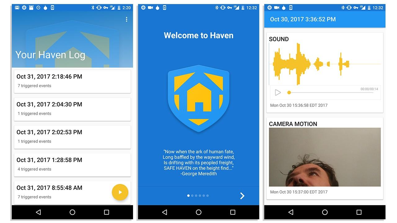 Edward Snowden Haven app
