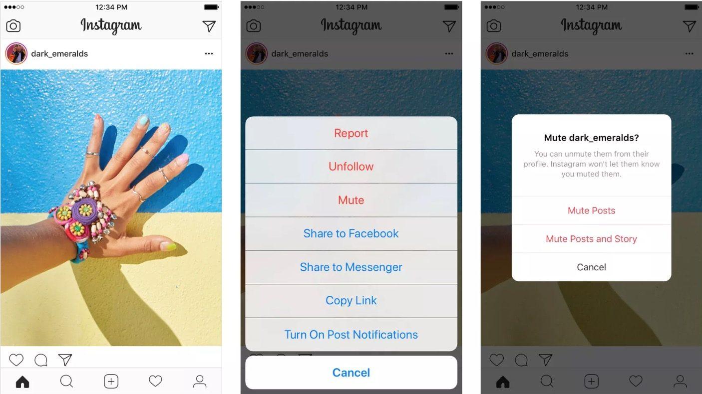 Instagram Sessize Al Özelliği