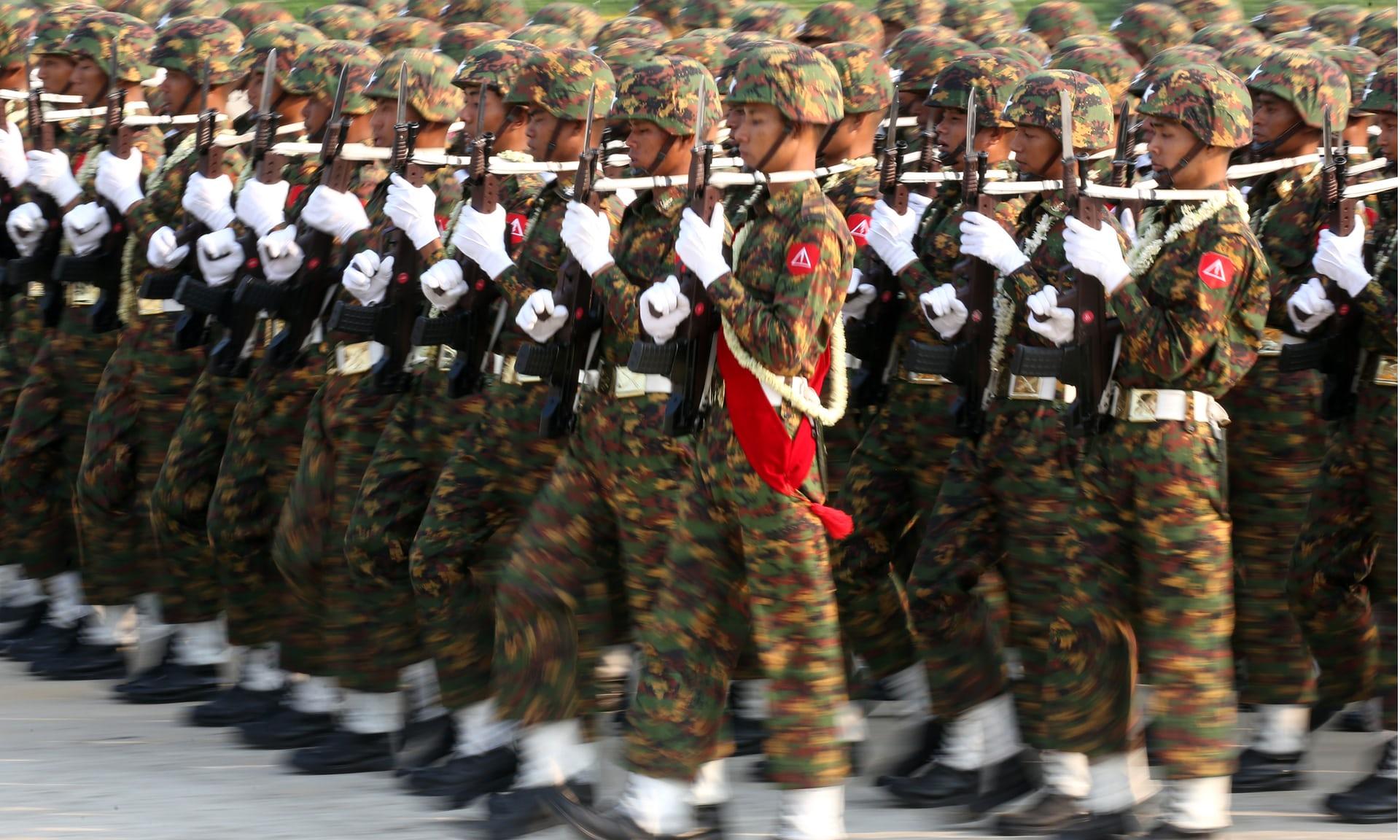 Facebook Myanmar ordusunun