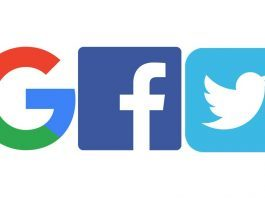 AB Google, Facebook ve Twitter