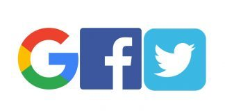 AB Google, Facebook ve Twitter
