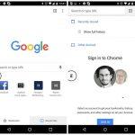 Android'in Chrome farklı sekme özelliği