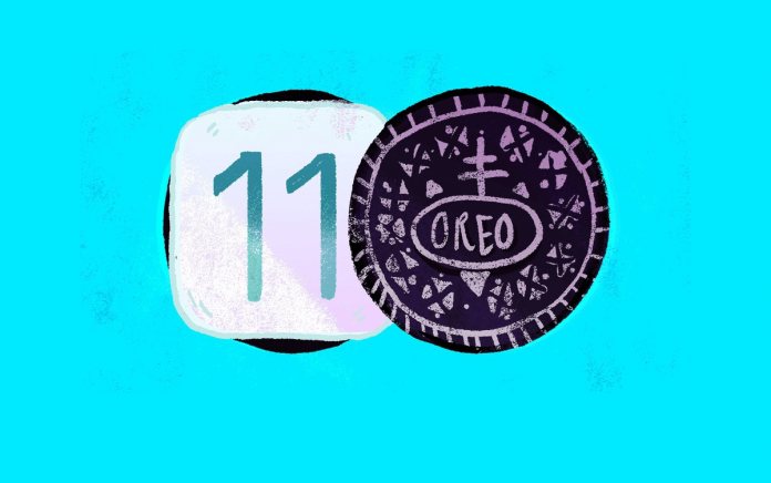Android Oreo ve iOS 11