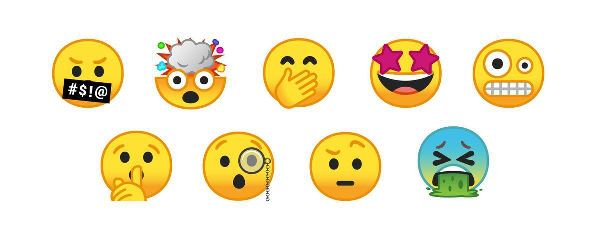 Android veiOS yeni emojiler