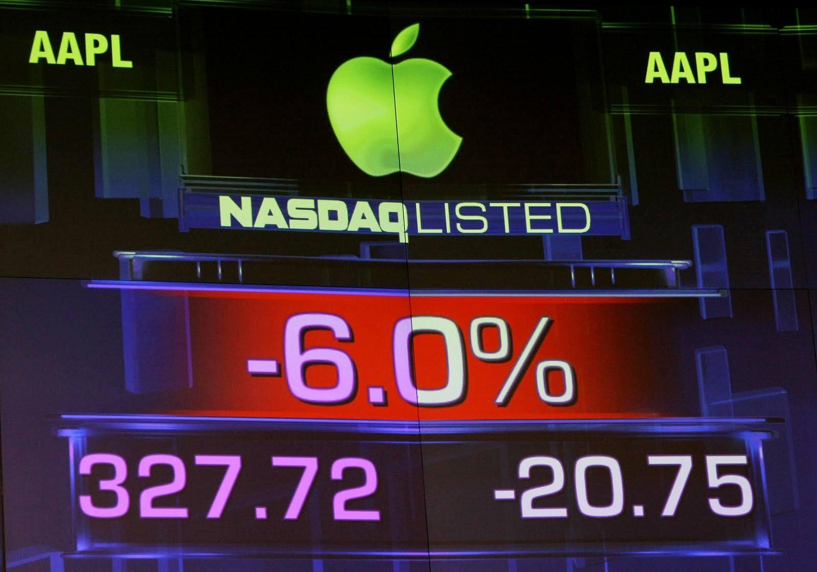 Apple Değer Kaybediyor