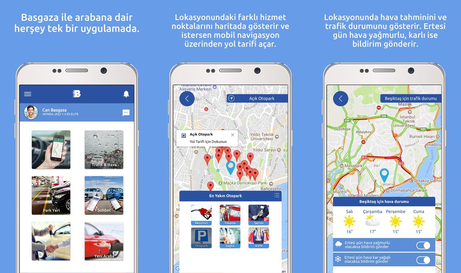 Basgaza Mobil Uygulaması