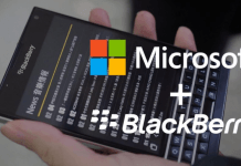 BlackBerry ve Microsoft