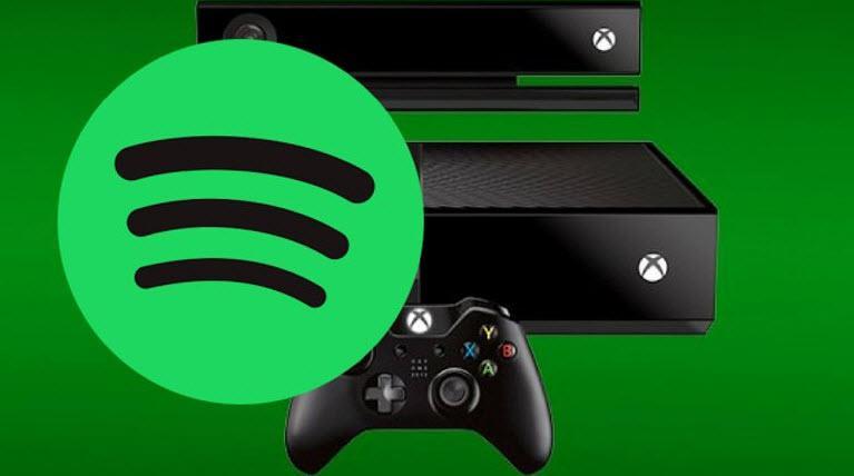 Xbox ve Spotify