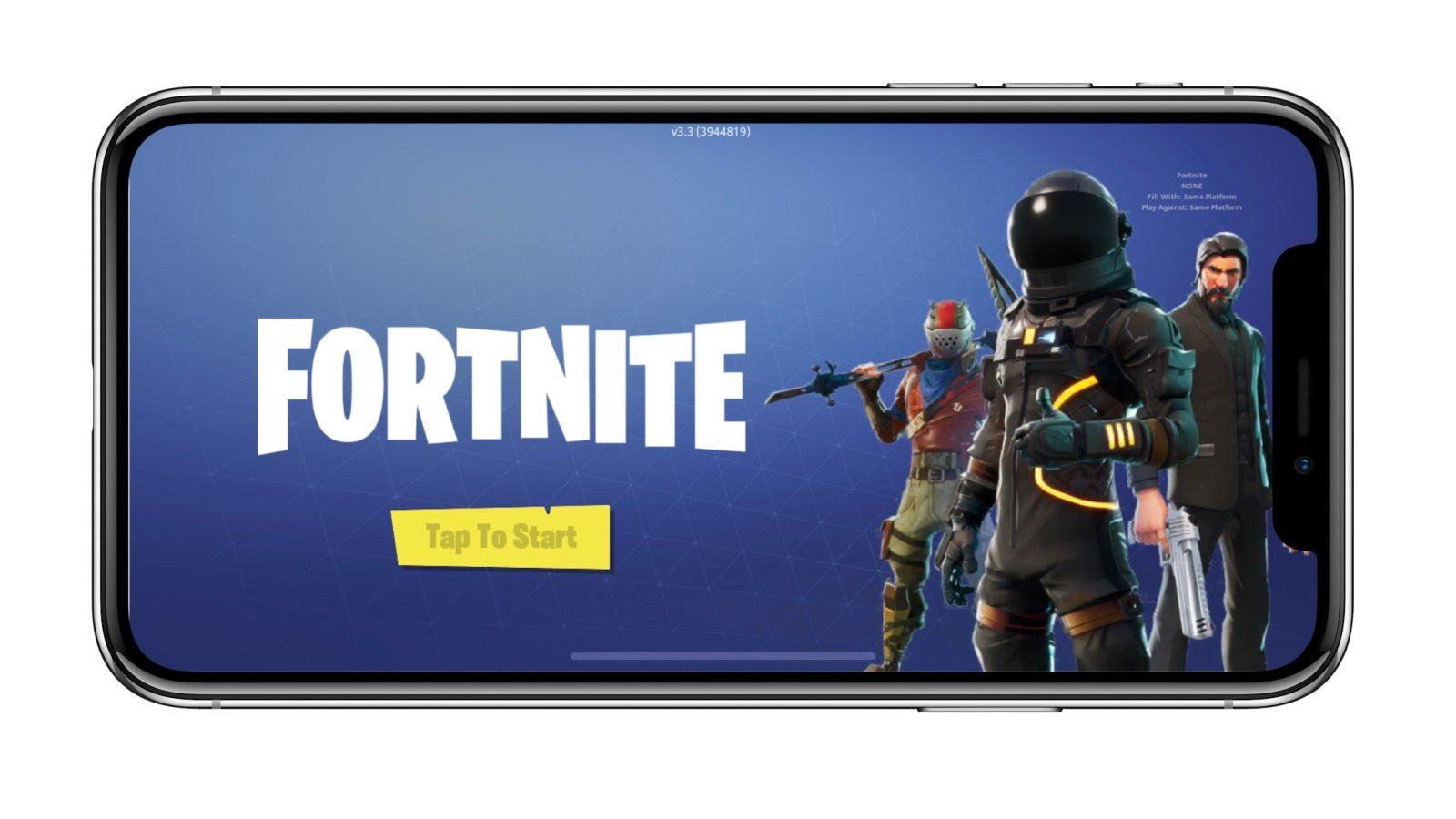 Epic Games Fortnite iOS
