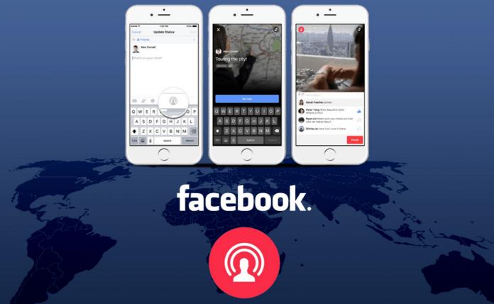 Facebook Canlı Yayın Yeni Özellik