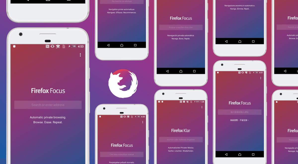 Firefox Focus Tarayıcı Sekmeleri