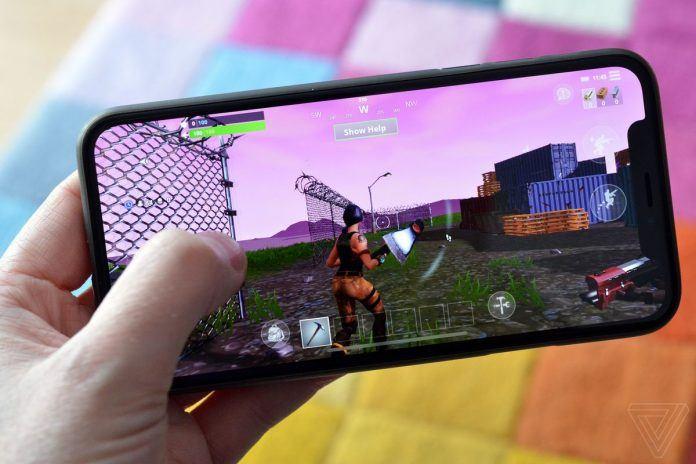 Epic Games Fortnite iOS