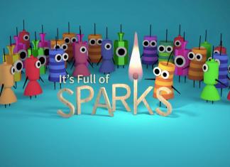 full of sparks