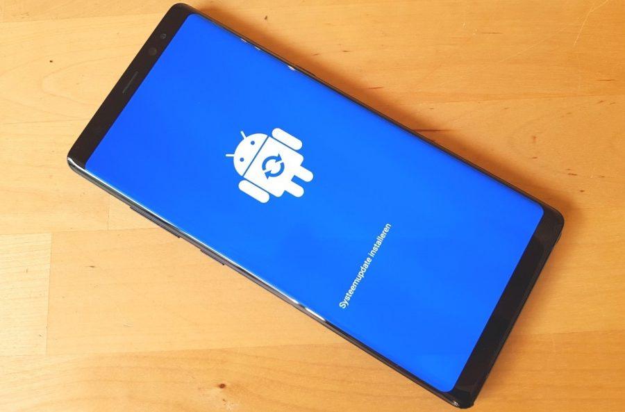 Galaxy Note 8 için Yeni Güncelleme