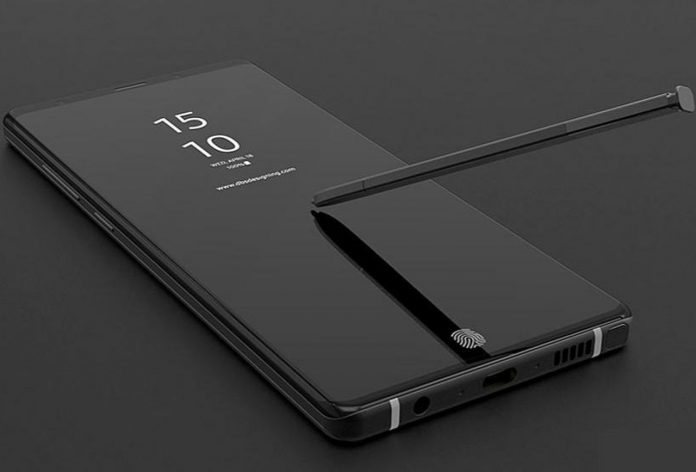 Samsung Galaxy Note 9 güncellemesi