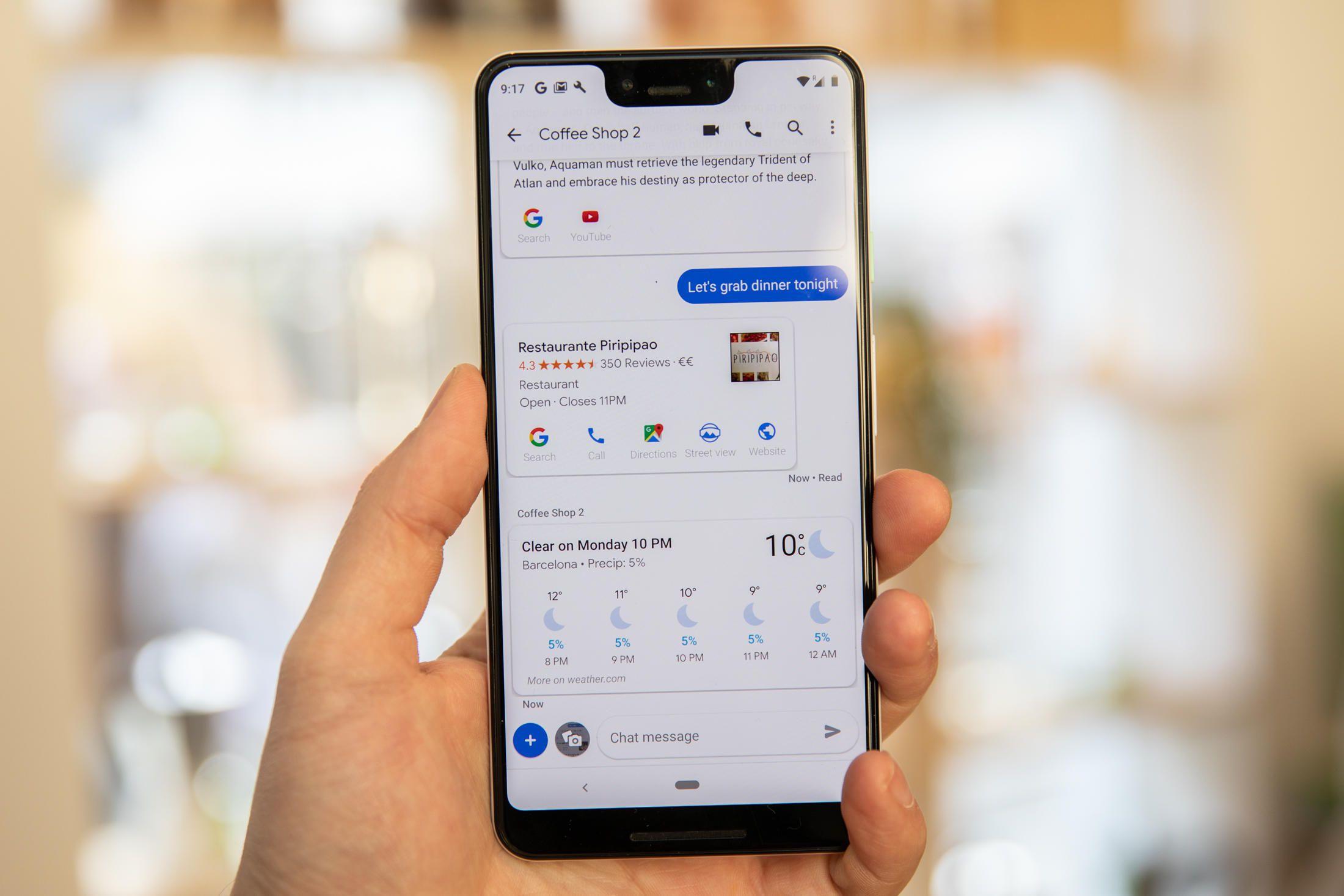 android mesajlar uygulaması