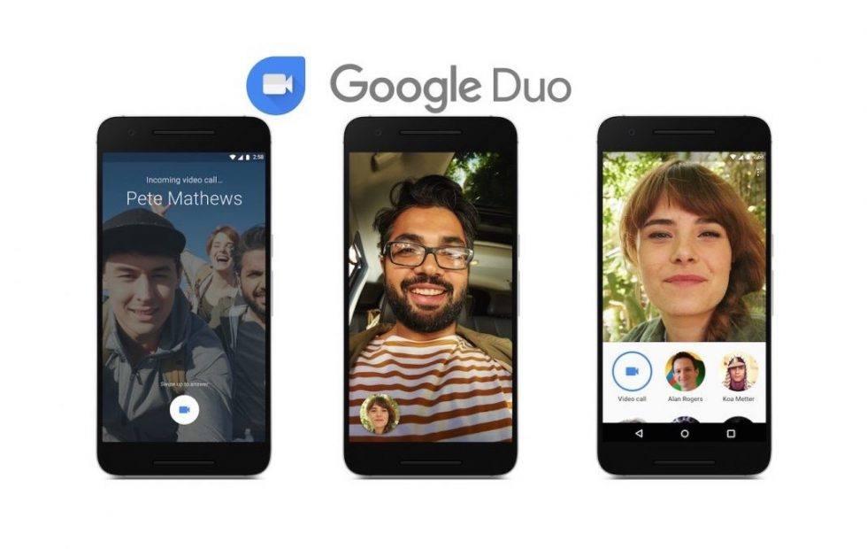 Google Duo Ekran Görüntüsü