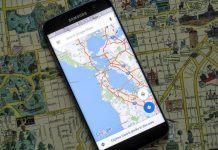 Google Maps Artırılmış Gerçeklik