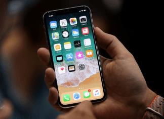 iPhone X'in yan tuşu