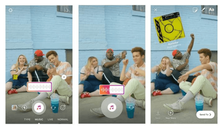 Instagram Hikayeler için Müzik Ekleme