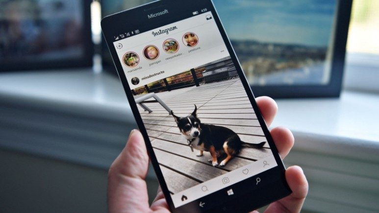 Instagram Windows 10 Mobile