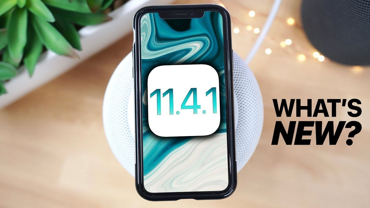 iOS 11.4.1 güncellemesi