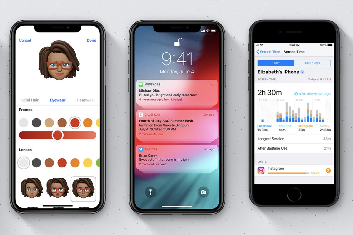 iOS 12 ile Fotoğraf Gönderimi