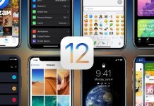 iPhone iOS 12