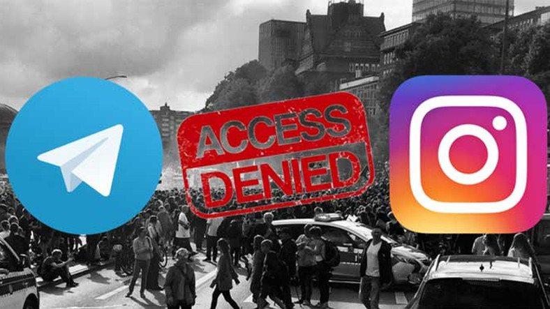 İran Instagram'ı Yasaklama