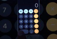 iOS 12 hesap makinesi hatası