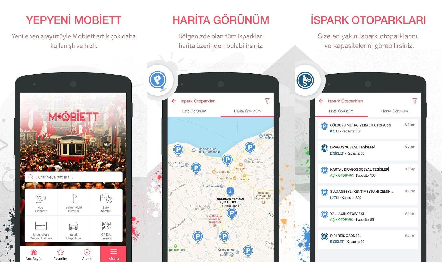Mobiett Mobil Uygulaması