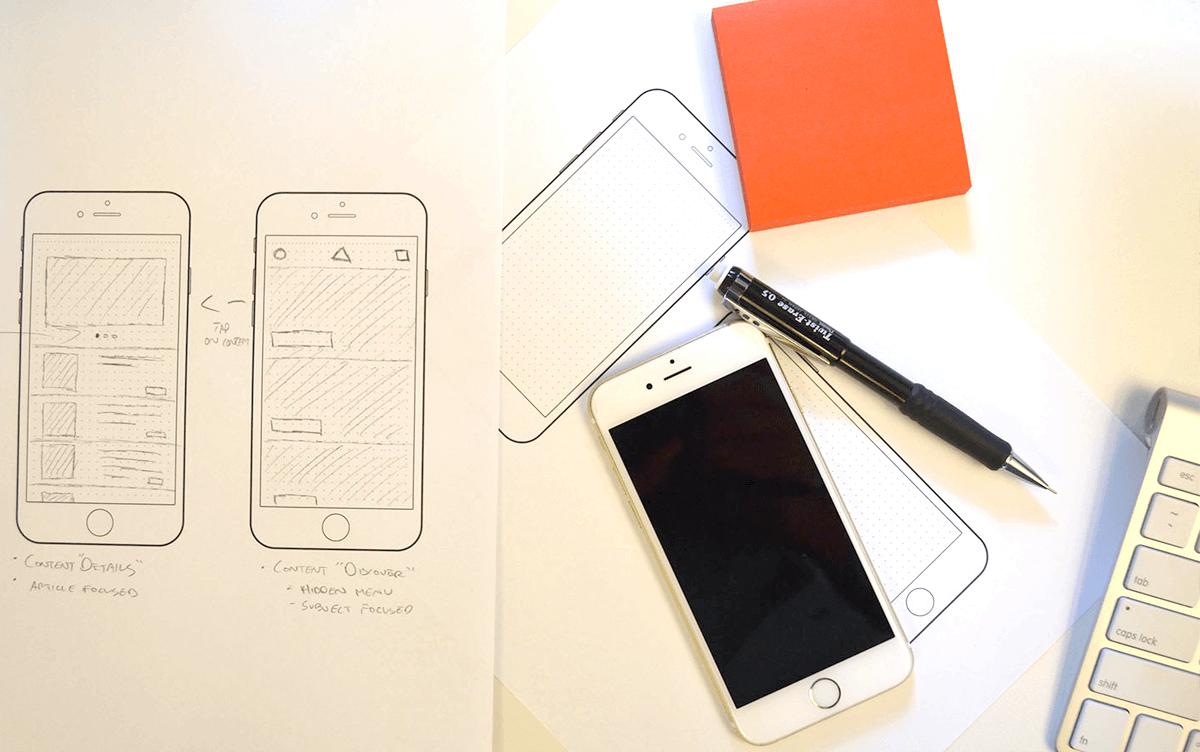 mobil uygulama tasarımı