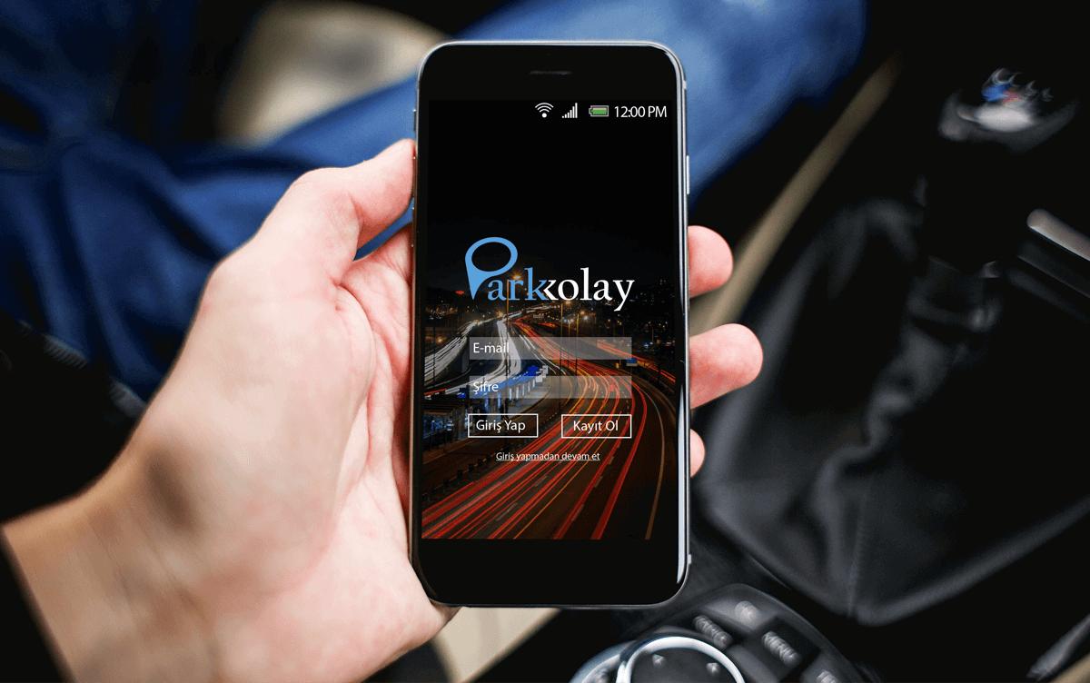 parkkolay mobil uygulaması