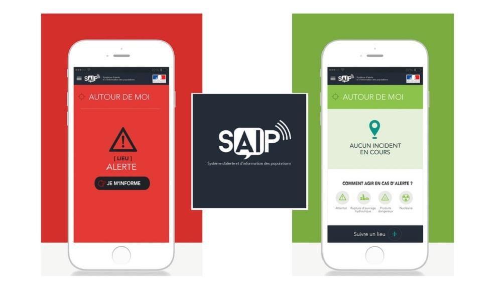 Fransa Mobil Terör Saldırısı Uygulamasını