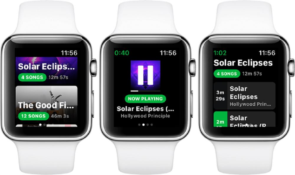 Spotify'ın Resmi Apple Watch Uygulaması