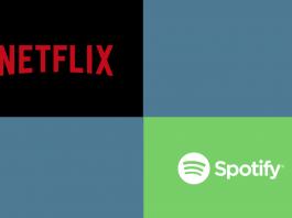 Netflix ve spotify