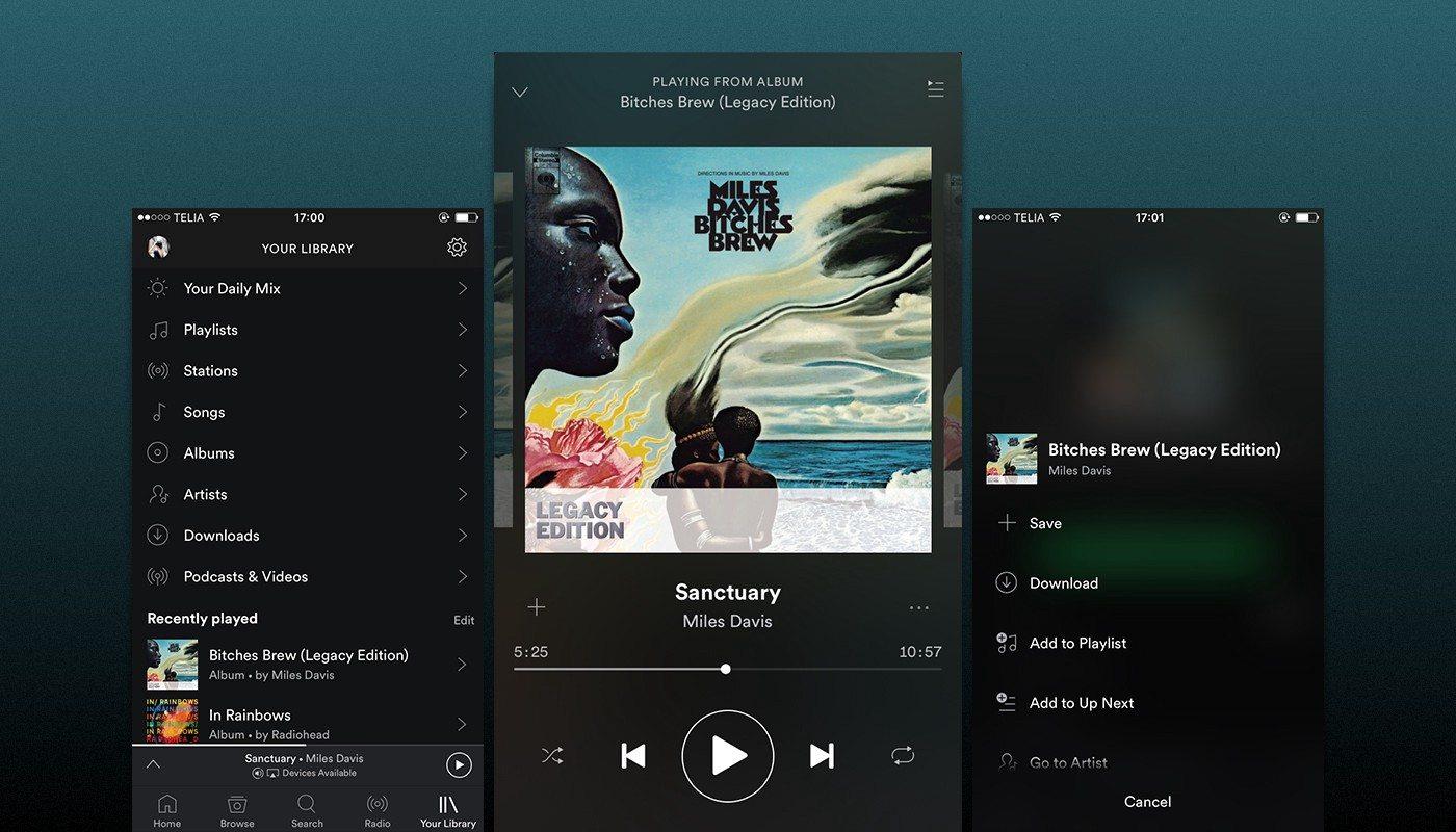 Spotify Ücretsiz Aboneler