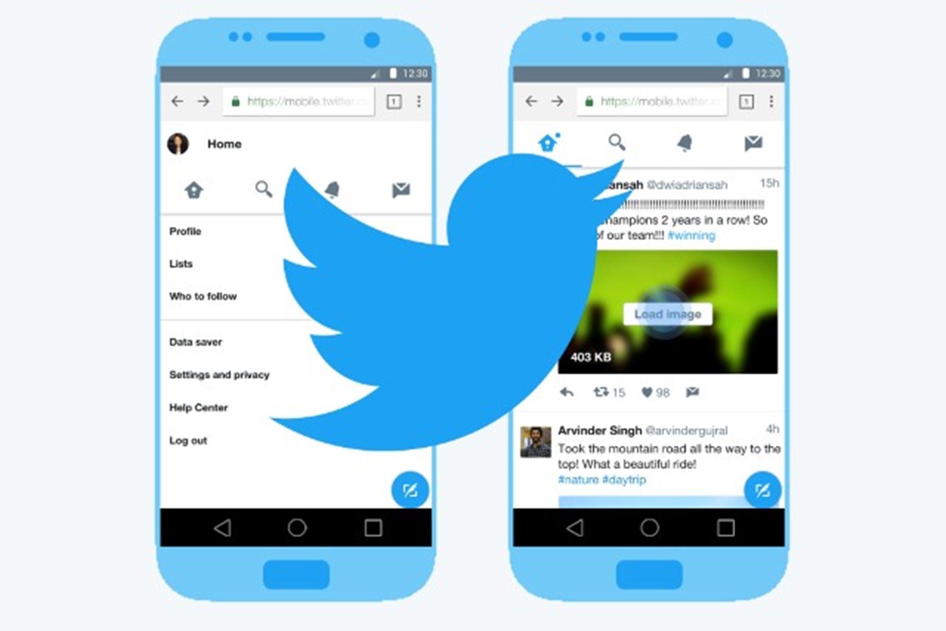Twitter veri tasarrufu
