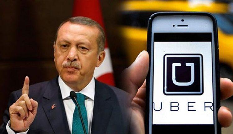 """Cumhurbaşkanı Erdoğan """"UBER Bitti"""""""