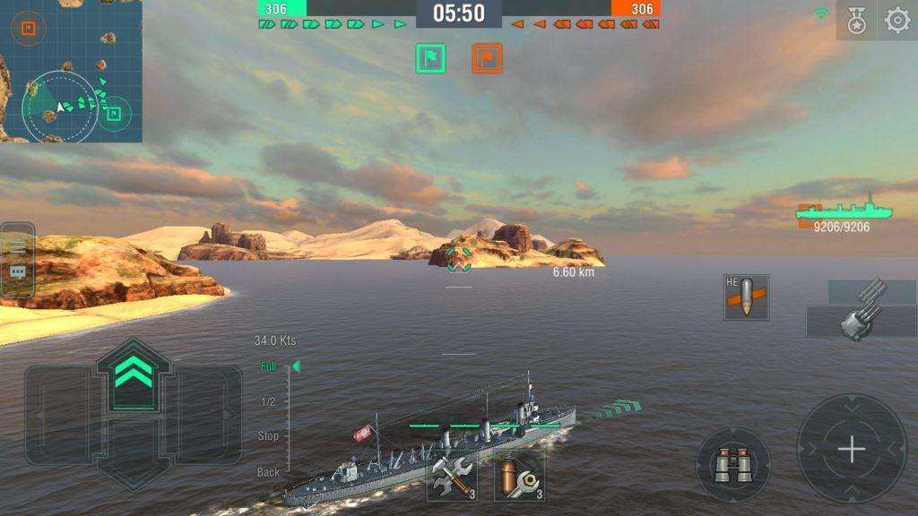 world of warships blitz muhrip torpil torpido