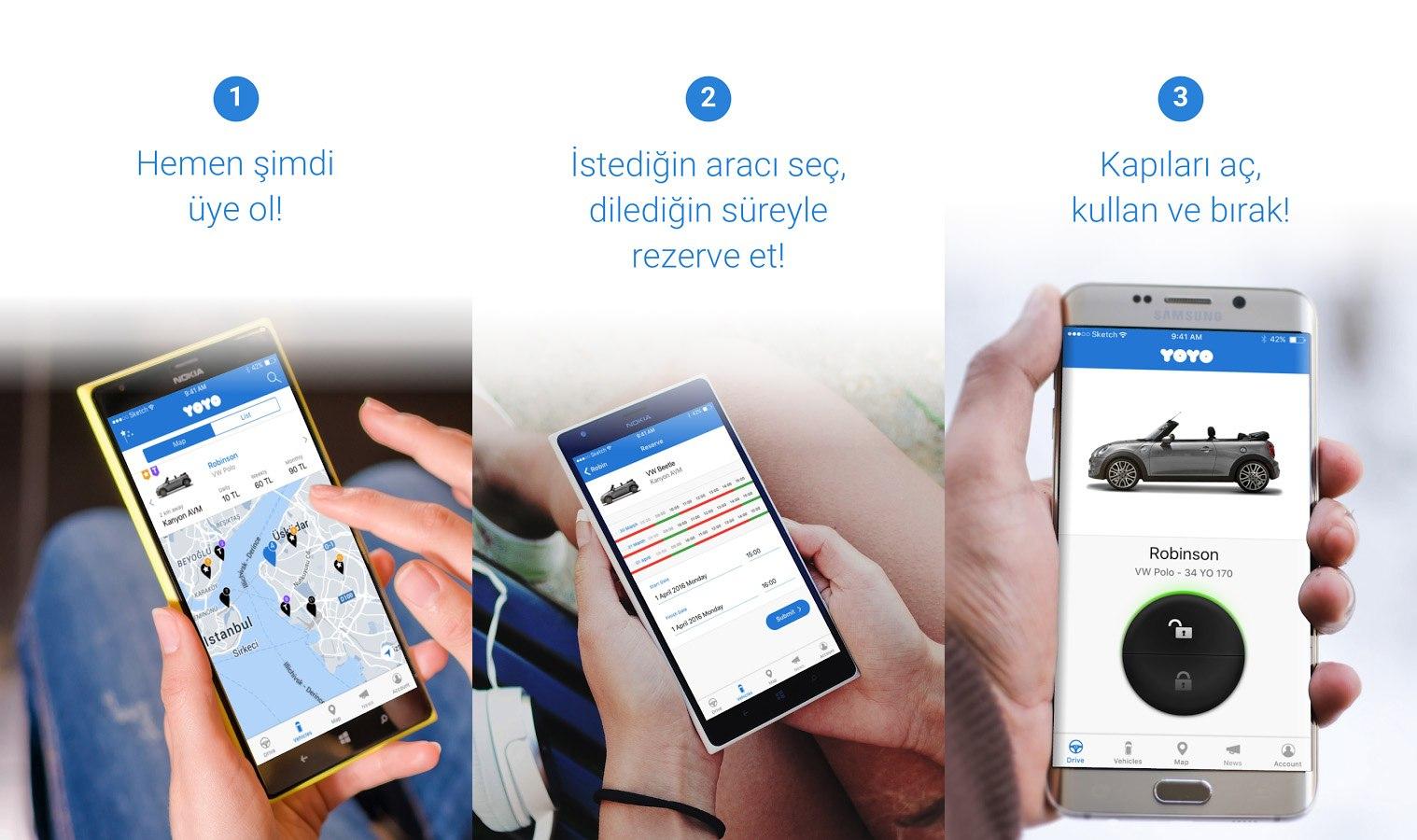 Drive Yoyo App